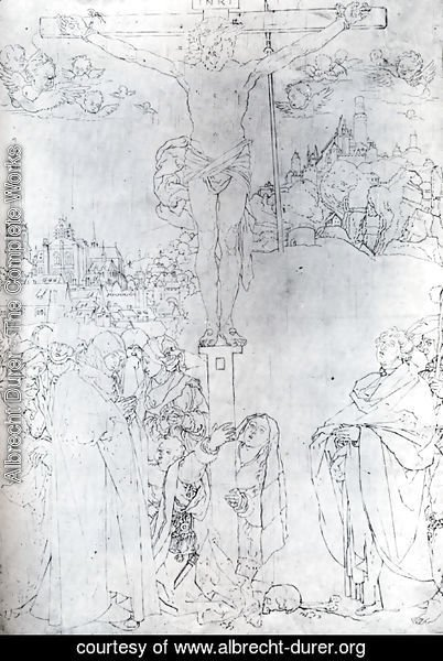 Albrecht Durer - Crucifixion With Many Figures