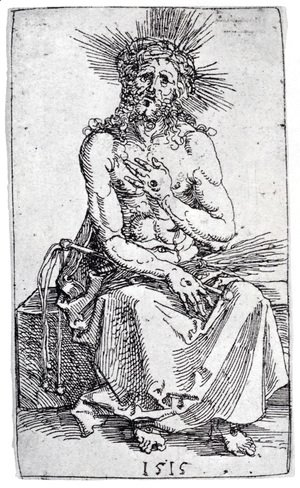 Albrecht Durer - Man Of Sorrows, Seated