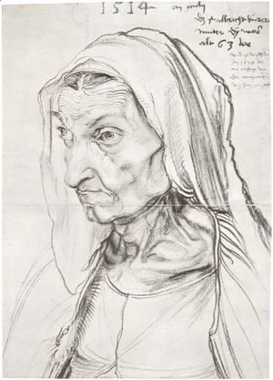 Albrecht Durer - Durer's Mother