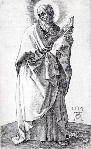 Albrecht Durer - St. Paul (First State)