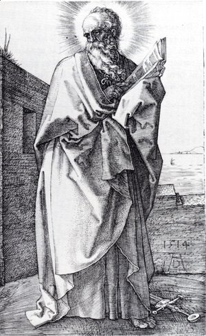 Albrecht Durer - St. Paul (Second State)