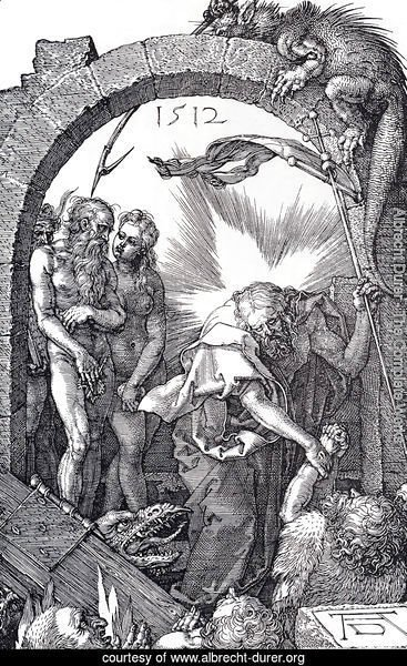 Harrowing Of Hell (Engraved Passion) (or Christ In Limbo)