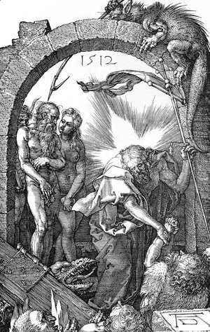 Albrecht Durer - Harrowing Of Hell (Engraved Passion) (or Christ In Limbo)