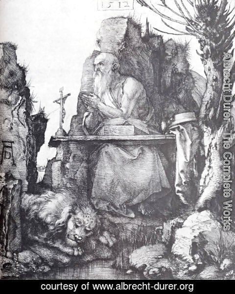 Albrecht Durer - St. Jerome By The Pollard Willow