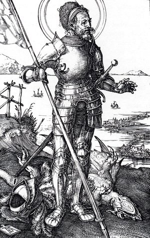 Albrecht Durer - St. George On Foot
