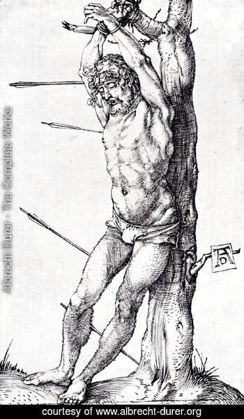 Albrecht Durer - St. Sebastian At The Tree