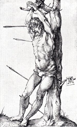 St. Sebastian At The Tree