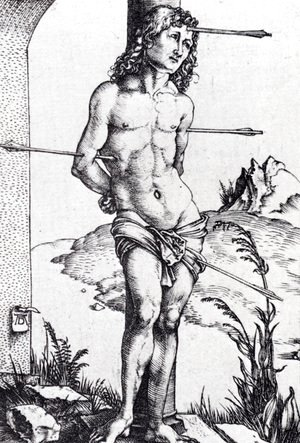 Albrecht Durer - St. Sebastian At The Column