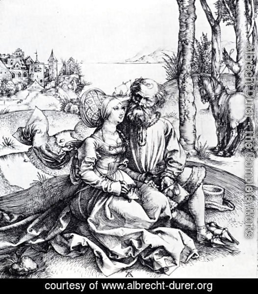 Albrecht Durer - The Ill-Assorted Couple (or The Offer Of Love)