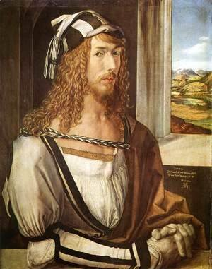 Albrecht Durer - Self-Portrait at 26 2