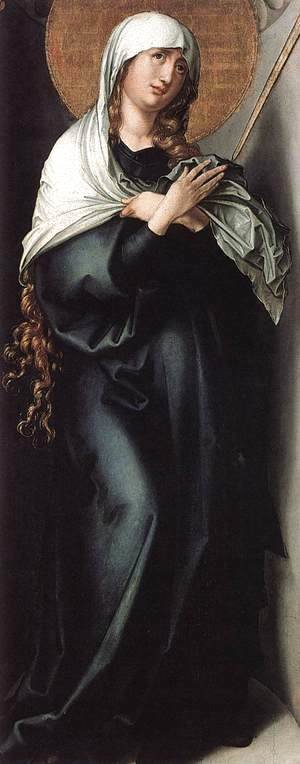 Albrecht Durer - The Seven Sorrows of the Virgin: Mother of Sorrows