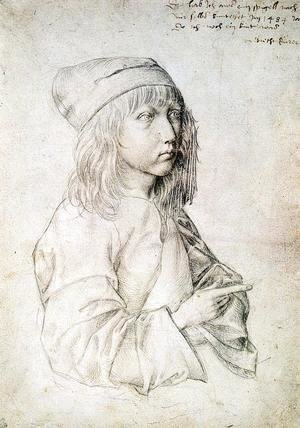 Albrecht Durer - Self Portrait at 13 I
