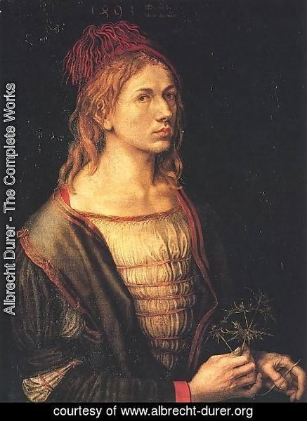 Albrecht Durer - Self Portrait at 22 I