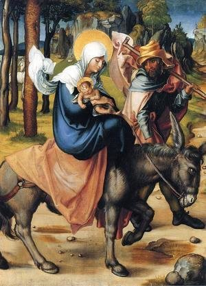 Albrecht Durer - The Flight into Egypt