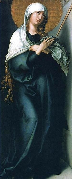 Albrecht Durer - The Seven Sorrows of the Virgin: Mother of Sorrows I