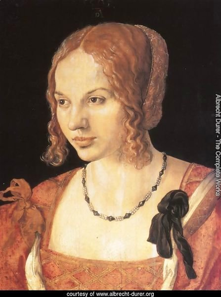 Portrait of a Young Venetian Woman I