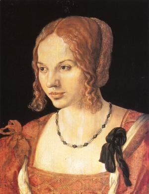 Albrecht Durer - Portrait of a Young Venetian Woman I
