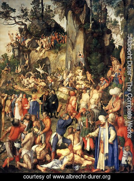 Albrecht Durer - Martyrdom of the Ten Thousand