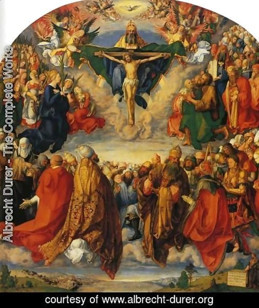 Albrecht Durer - Adoration of the Trinity