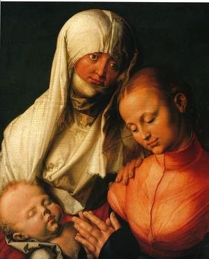 Albrecht Durer - Virgin and Child with St. Anne
