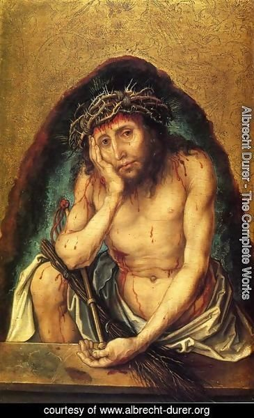 Albrecht Durer - Christ as the Man of Sorrows I
