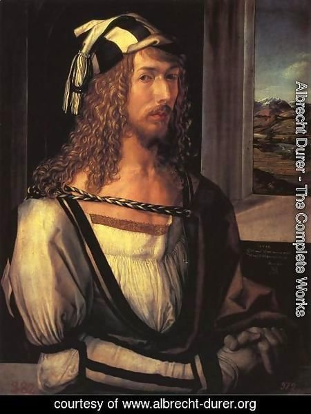 Albrecht Durer - Self Portrait at 26 I