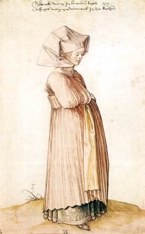 Albrecht Durer - Nuremberg Woman Dressed for Church