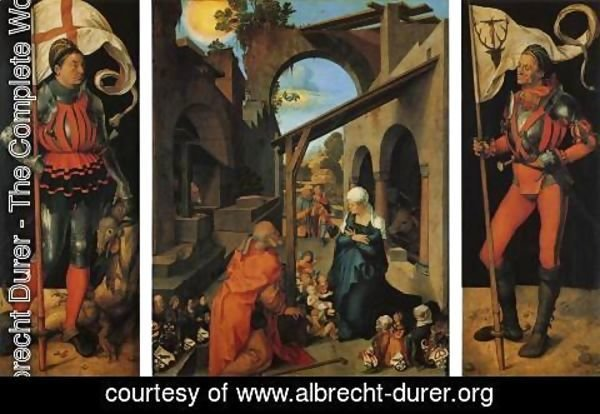 Albrecht Durer - The Paumgartner Alterpiece