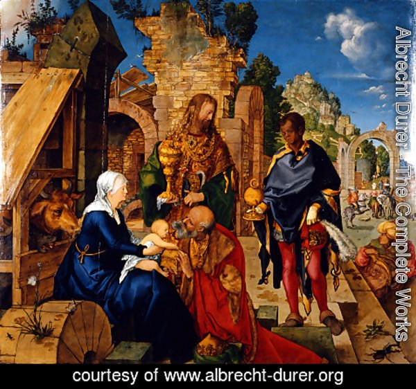 Albrecht Durer - The Adoration of the Magi