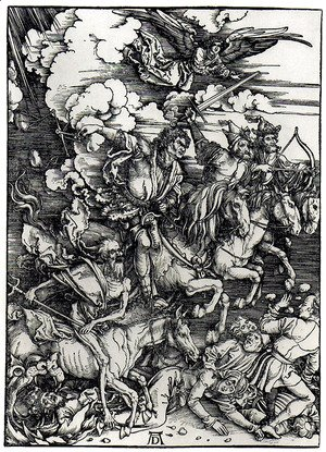 Albrecht Durer - Four Horsemen of the Apocalypse