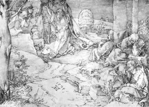 Albrecht Durer - Christ On The Mount Of Olives
