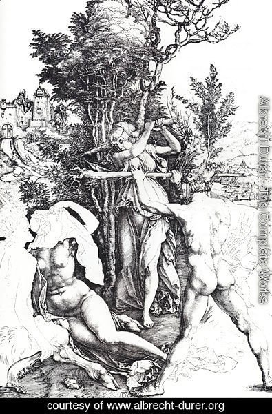 Albrecht Durer - Hercules At The Crossroads