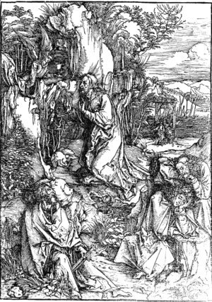 Albrecht Durer - Agony in the Garden 2
