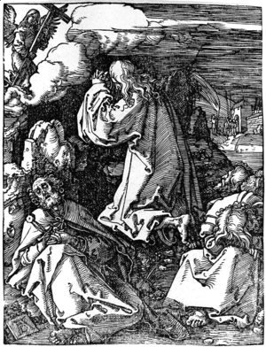 Albrecht Durer - Agony in the Garden 4