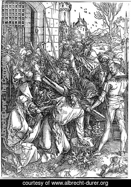 Albrecht Durer - Bearing of the Cross