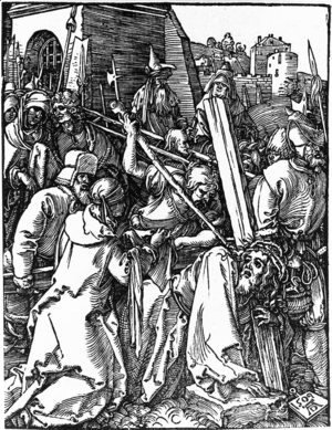 Albrecht Durer - Bearing of the Cross 3