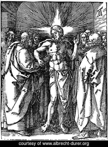Albrecht Durer - Christ Appearing to His Disciples