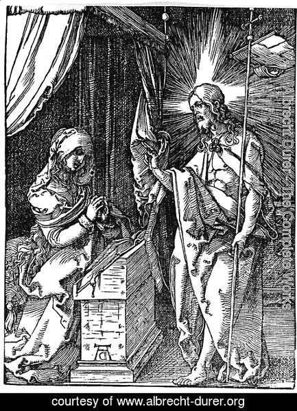 Albrecht Durer - Christ Appearing to his Mother