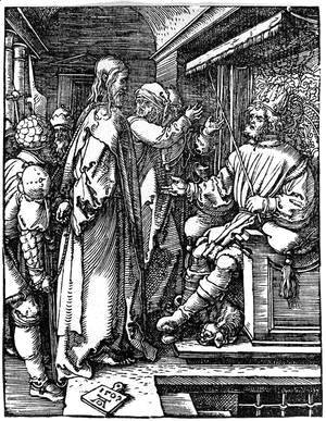 Albrecht Durer - Christ Before Herod