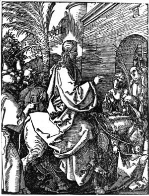 Albrecht Durer - Christ's Entry into Jerusalem