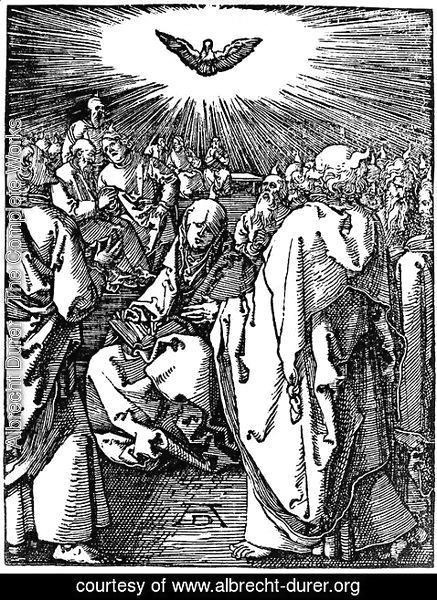 Albrecht Durer - Descent of the Holy Ghost