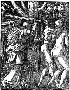 Albrecht Durer - Expulsion from Paradise