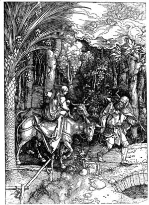 Albrecht Durer - Flight into Egypt
