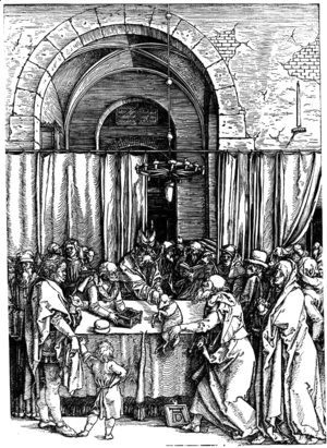 Albrecht Durer - Joachim's Offering Rejected