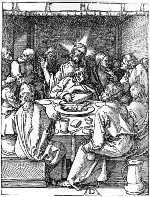 Albrecht Durer - Last Supper