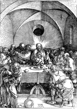 Albrecht Durer - Last Supper 2