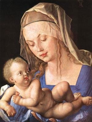 Albrecht Durer - Madonna with the Cut Pear