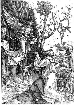 Albrecht Durer - Message of Angel to Joachim