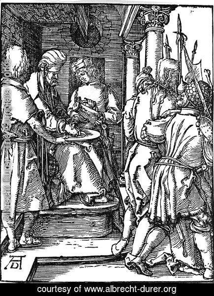 Albrecht Durer - Pilate Washing his Hands