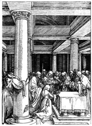 Albrecht Durer - Presentation of Christ at the Temple